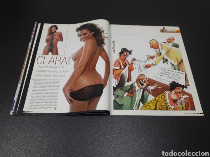 Coleccionismo de Revista Interviú: INTERVIÚ N° 1.429. 15 DE SEPTIEMBRE 2003. CLARA MORGANE, EMI MACHADO, RENATA. - Foto 4 - 194504601