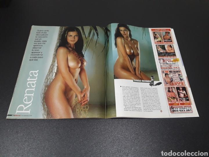 Coleccionismo de Revista Interviú: INTERVIÚ N° 1.429. 15 DE SEPTIEMBRE 2003. CLARA MORGANE, EMI MACHADO, RENATA. - Foto 9 - 194504601