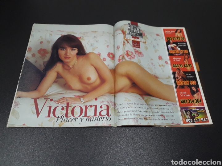 Coleccionismo de Revista Interviú: INTERVIÚ N° 1.430. 22 DE SEPTIEMBRE 2003. REMEDIOS CERVANTES, VICTORIA. - Foto 7 - 194505676