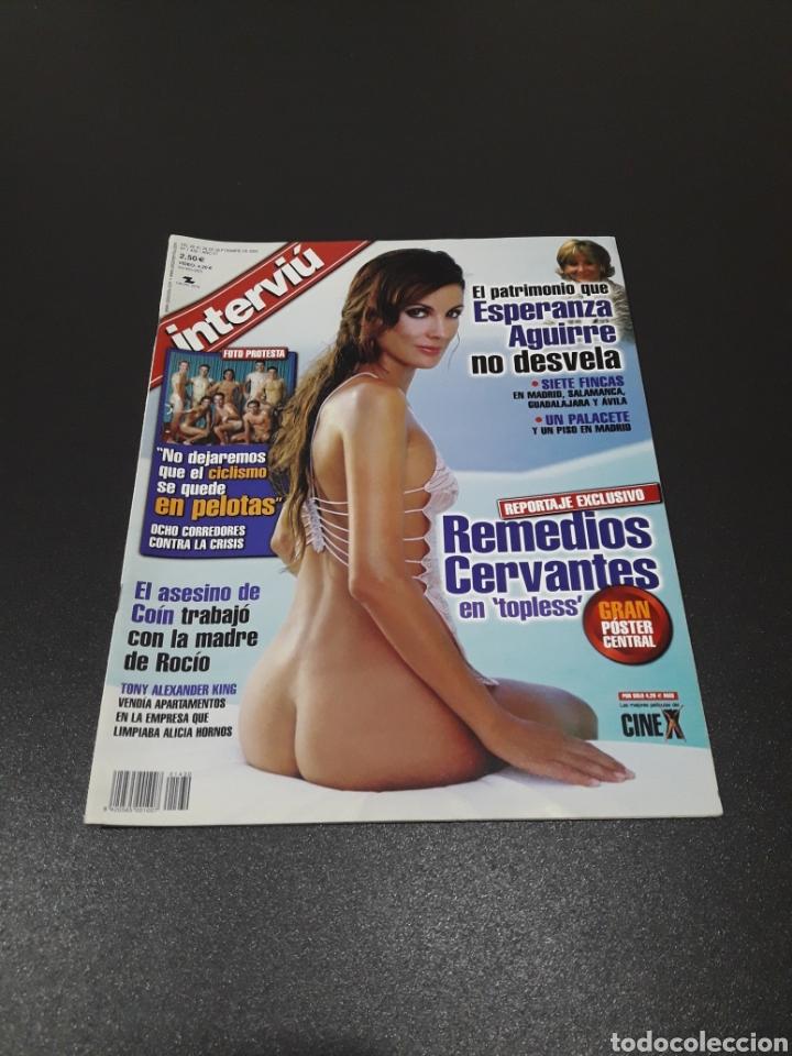 INTERVIÚ N° 1.430. 22 DE SEPTIEMBRE 2003. REMEDIOS CERVANTES, VICTORIA. (Coleccionismo - Revistas y Periódicos Modernos (a partir de 1.940) - Revista Interviú)