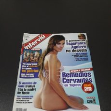Coleccionismo de Revista Interviú: INTERVIÚ N° 1.430. 22 DE SEPTIEMBRE 2003. REMEDIOS CERVANTES, VICTORIA.. Lote 194505676