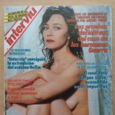 Coleccionismo de Revista Interviú: REVISTA INTERVIÚ Nº 726 1990 HELENA SOFONOVA, HELLIN, GLORIA FABUEL, ROSARIO MURILLO, PANTANO SERENA. Lote 194678893