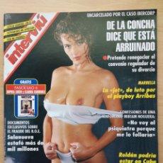 Coleccionismo de Revista Interviú: REVISTA INTERVIÚ Nº 948 1994 GOLDA COMES, ALEJANDRA BOTO, ROCIO JURADO, NORMA DUVAL, VALDERRAMA.. Lote 194680003
