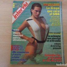 Coleccionismo de Revista Interviú: INTERVIU Nº 576 - JUNIO DE 1987 - SAMANTHA FOX, DO DE PECHO EN UN, DOS, TRES. Lote 195136328