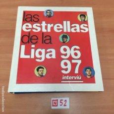 Coleccionismo de Revista Interviú: LAS ESTRELLAS DE LA LIGA. Lote 196017636
