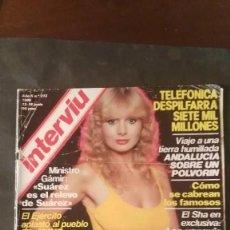 Coleccionismo de Revista Interviú: INTERVIU Nº 213: SONIA GIL, PAUL MC CARTNEY,SYLVIA KRISTEL. Lote 197849790