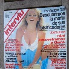 Coleccionismo de Revista Interviú: INTERVIU 259 MAYO 1981 , ROCIO JURADO , SECUESTRO DE QUINI , ESCANDALO DALI , Y MUCHO MAS. Lote 197850003