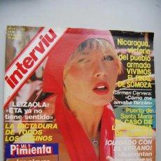 Coleccionismo de Revista Interviú: REVISTA INTERVIU 1981 AÑO 6 Nº 287 - NENÉ MORALES - CRIMEN VILÁ CARBONELL - RICARDO DE LA CIERVA. Lote 197850595