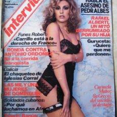 Coleccionismo de Revista Interviú: REVISTA INTERVIU Nº 121 DE 1978 - LA GRECA, CARMELA MUÑOZ, RAFAEL ALBERTI, GURUCETA. Lote 197852452