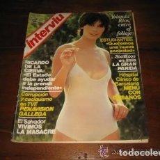 Coleccionismo de Revista Interviú: REVISTA INTERVIU Nº 195 AÑO 1980. PORTADA: YOLANDA RÍOS. CHICAS: TERESA: ¡CUIDADO CON LOS BIGOTES!.. Lote 197855138