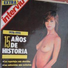 Colecionismo da Revista Interviú: EXTRA INTERVIU -1976 -1991 15 AÑOS DE HISTORIA . Lote 197862791