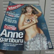 Coleccionismo de Revista Interviú: REVISTA INTERVIU Nº 1389 / PORTADA: ANNE IGARTIBURU-EDICION ESPECIAL. Lote 197880382