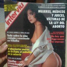 Coleccionismo de Revista Interviú: INTERVIÚ NÚMERO 856 AÑO 17. Lote 198056517