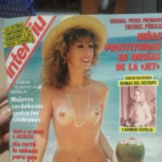 Coleccionismo de Revista Interviú: INTERVIÚ NÚMERO 851 AÑO 17. Lote 198058483