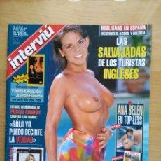 Coleccionismo de Revista Interviú: INTERVIÚ 1056. DIOSAS EROTISMO. ALBA PARIETTI. ANA BELÉN. Lote 198401413