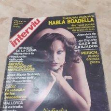 Coleccionismo de Revista Interviú: REVISTA INTERVIU AÑO 3 Nº99 ABRIL DE 1978. Lote 198862403