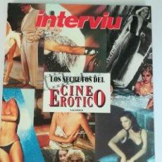 Coleccionismo de Revista Interviú: INTERVIU. LAS REINAS DEL DESTAPE Y LOS SECRETOS DEL CINE EROTICO. Lote 198920280