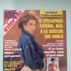 Coleccionismo de Revista Interviú: REVISTA INTERVIU Nº 803/1991 - MASSIEL TOPLESS, ETC.... Lote 199282873