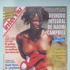 Coleccionismo de Revista Interviú: REVISTA INTERVIU Nº 905/1993 - RAQUEL MOSQUERA TOPLESS, NAOMI CAMPBELL, BELINDA WASHINGTON, ETC.... Lote 199283090