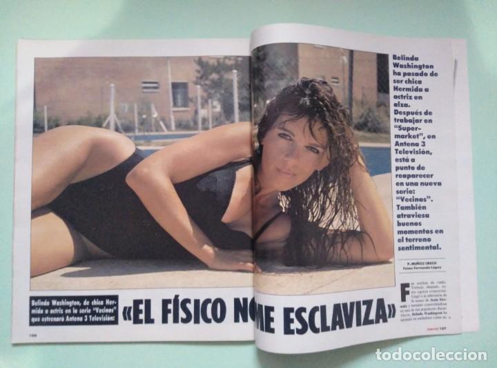Coleccionismo de Revista Interviú: Revista Interviu Nº 905/1993 - Raquel Mosquera Topless, Naomi Campbell, Belinda Washington, etc... - Foto 2 - 199283090