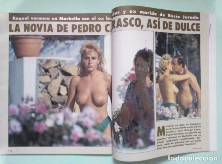 Coleccionismo de Revista Interviú: Revista Interviu Nº 905/1993 - Raquel Mosquera Topless, Naomi Campbell, Belinda Washington, etc... - Foto 3 - 199283090
