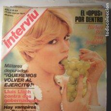 Coleccionismo de Revista Interviú: INTERVIU N.º 44 17/03/77. Lote 199396525