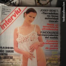 Coleccionismo de Revista Interviú: INTERVIU N.º 72 06/10/77. Lote 199396527