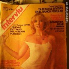 Coleccionismo de Revista Interviú: INTERVIU N.º 62 21/07/77. Lote 199396548