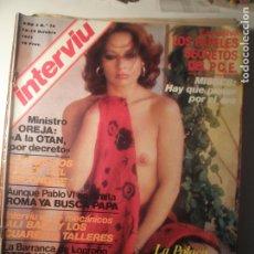 Coleccionismo de Revista Interviú: INTERVIU N.º 74 13/10/77. Lote 199396557