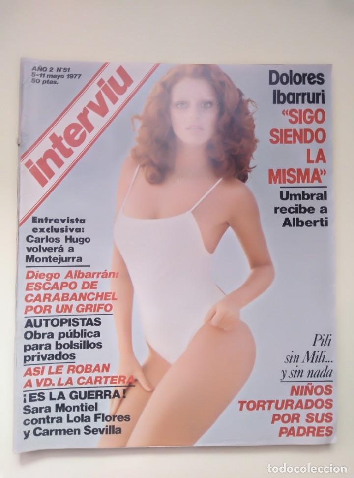 Coleccionismo de Revista Interviú: 3 REVISTAS INTERVIU Nº 51, 1376, Y 1853 - Foto 2 - 201263591