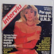 Coleccionismo de Revista Interviú: INTERVIU N.360. Lote 202719091