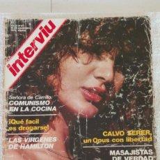 Coleccionismo de Revista Interviú: INTERVIÚ AÑO 1, 1976, N° 27 ,MUY BUEN ESTADO. Lote 203162965