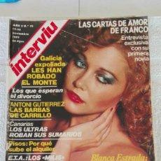 Coleccionismo de Revista Interviú: INTERVIÚ AÑO 2, 1977, N° 79 ,MUY BUEN ESTADO. Lote 203163360