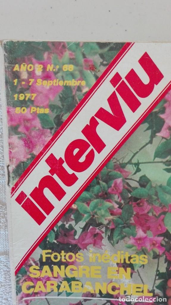 Coleccionismo de Revista Interviú: INTERVIÚ año 2, 1977, n° 68 ,muy buen estado - Foto 2 - 203163666