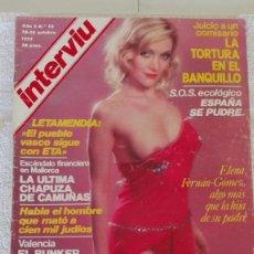 Collezionismo di Rivista Interviú: INTERVIÚ AÑO 2, 1977, N° 75 ,MUY BUEN ESTADO. Lote 203163895