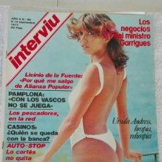 Coleccionismo de Revista Interviú: INTERVIÚ AÑO 2, 1977, N° 69 ,MUY BUEN ESTADO. Lote 203164760