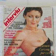 Coleccionismo de Revista Interviú: INTERVIÚ AÑO 2, 1977, N° 67 ,MUY BUEN ESTADO. Lote 203164997