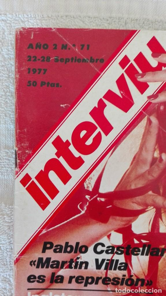 Coleccionismo de Revista Interviú: INTERVIÚ año 2, 1977, n° 71,muy buen estado - Foto 2 - 203165311