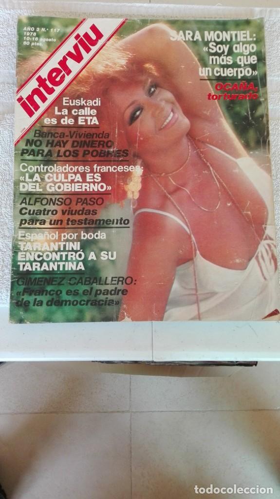 INTERVIÚ AÑO 3, 1978, N° 117, MUY BUEN ESTADO (Coleccionismo - Revistas y Periódicos Modernos (a partir de 1.940) - Revista Interviú)