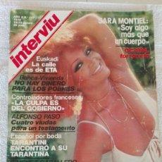 Coleccionismo de Revista Interviú: INTERVIÚ AÑO 3, 1978, N° 117, MUY BUEN ESTADO. Lote 203166423