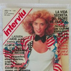 Coleccionismo de Revista Interviú: INTERVIÚ AÑO 3, 1978, N° 125 , MUY BUEN ESTADO. Lote 203166740
