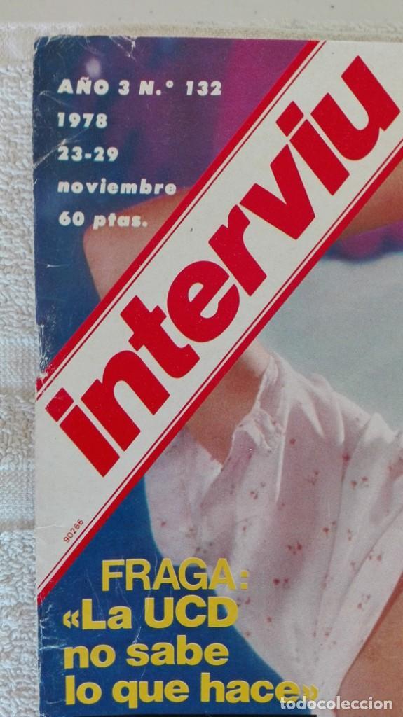 Coleccionismo de Revista Interviú: INTERVIÚ año 3, 1978, n° 132 , muy buen estado - Foto 2 - 203167016