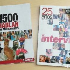 Coleccionismo de Revista Interviú: INTERVIU 25 AÑOS + 1500 HABLAN LOS PROTAGONISTAS. Lote 203169042
