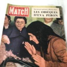 Coleccionismo de Revista Interviú: PARIS MATCH - 1952- EVA PERON. Lote 205509650
