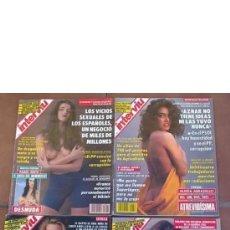 Coleccionismo de Revista Interviú: LOTE 6 REVISTAS INTERVIU AÑO 93. Lote 205837753