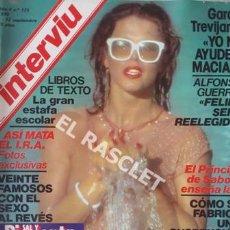 Coleccionismo de Revista Interviú: ANTIGÚA REVISTA INTERVIU - Nº 173 - AÑO 1979. Lote 206795542