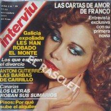 Coleccionismo de Revista Interviú: ANTIGÚA REVISTA INTERVIU - Nº 79 - AÑO 1977. Lote 206795655