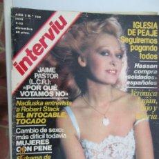 Coleccionismo de Revista Interviú: REVISTA INTERVIU - Nº 134 - DICIEMBRE 1978 - NADIUSKA, VERÓNICA LUJÁN, TRANSMEDITERRANEA ..... Lote 206970507