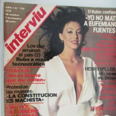Coleccionismo de Revista Interviú: REVISTA INTERVIU Nº 128 - 1978 - NORMA DUVAL, TRAVOLTA, CRUYFF .... Lote 206970803