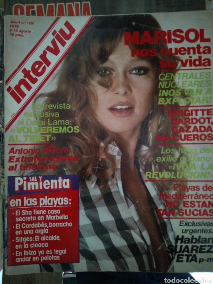 INTERVIÚ NÚMERO 169 1979 MARISOL NOS CUENTA SU VIDA (Coleccionismo - Revistas y Periódicos Modernos (a partir de 1.940) - Revista Interviú)